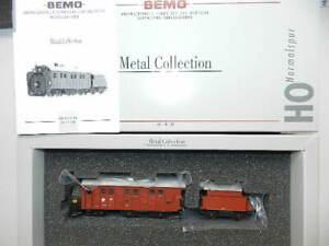 Bemo 1699410 SBB Dampf-Schneeschleuder X rotm 100  H0 1:87 Metal Collection