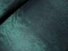(EUR 7,97/m) Edler FUTTER Meterware Futterstoff Paisleymuster glanzvoll Grün