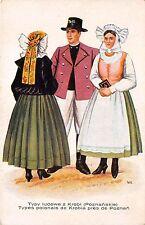 B58780 Judaica Typy types folklore from Poznan Poland