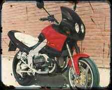 Bakker Kangaroo A4 Metal Sign Motorbike Vintage Aged
