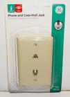 GE Phone and Coax Wall Jack