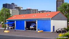 Kibri H0 38136 Garages Pour 4 Camion Kit de Montage Produit Neuf