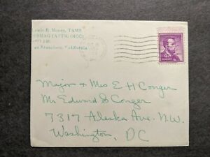 APO 146 FULDA, NETHERLANDS 1959 Army Cover TAMS USMAG OICC APO 143 HOLLAND