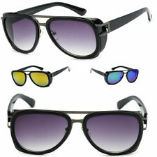 New Men Fashion Pilot Vintage Classic Retro Designer Sunglasses Black Retro