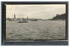 Sweden, Stockholm  Vintage silver print. Tirage argentique  7,5x11,5  Ci