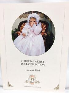 Lee Middleton Summer 1998 Original Artist Color Collection DOLL CATALOG Book
