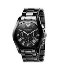 Emporio Armani Armbanduhren mit Chronograph und 30 m Wasserbeständigkeit (3 ATM)