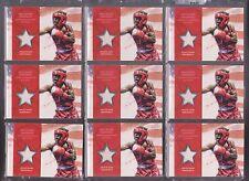 (9) 2012 TOPPS OLYMPIC RAU'SHEE WARREN ~ HUGE RELIC CARD LOT~ BOXING