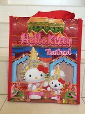 Sanrio Hello Kitty < Thai Dance > in Thailand shopping tote bag .. Limited
