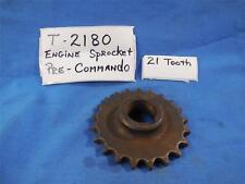 Norton T2180 NOS Engine Sprocket 21 Tooth , Pre Commando  N500