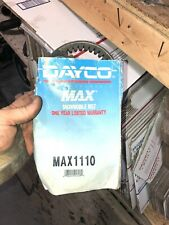 Dayco Max1110 Snowmobile Drive Belt Nos