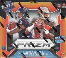 2017 Panini Prizm Football Factory Sealed Jumbo Hobby Box 3 Auto Watson? Finite?