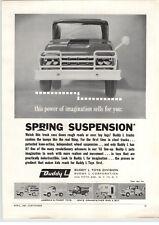 1961 PAPER AD Buddy L Toy Truck Pick up Tow Wrecker Coca Cola Dump RV Camper