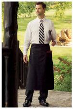 """Bistro Apron, 2 Pockets, Color: Black, Size: 28"""" W x 33"""" L - 3053"""