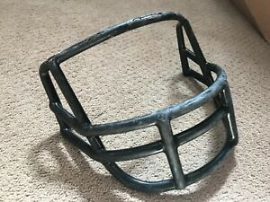 Vtg 1980s Riddell Adult Football Helmet Facemask face guard used OPO Black   A