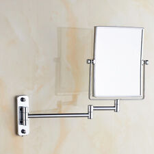 GURUN Bath Wall Mount Hotel Chrome Brass Makeup Mirror with 3X Magnification/1X