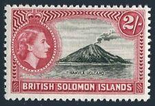 Solomon Isls 124,MNH.Michel 111. QE II definitive 1964.Tinakula Volcano.