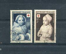 Timbre/Stamp - France -  N° 914 - 915  Oblitérés  - 1951 - TTB - Cote: + 8 €