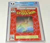 Web of Spider-man #90 CGC 9.6 NM+ Marvel Comics 2099 Poster Hologram Mysterio