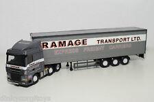 CORGI TOYS DAF 95XF 95 XF TRUCK WITH TRAILER RAMAGE NEAR MINT