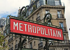 Paris Metro Jigsaw Puzzle