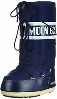 Moon Boot Nylon, Stivali da Neve Unisex Adulto - 140044 002 MOON BOOT BLU