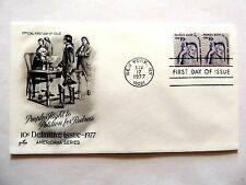 "November 17th, 1977 ""People's Right To Petition For Redress"" First Day Cover"