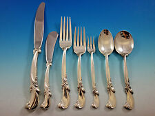 Waltz of Spring by Wallace Sterling Silver Flatware Set 12 Service 89 pieces