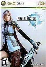 Final Fantasy XIII 13 Xbox 360 Game Rpg Fantasy