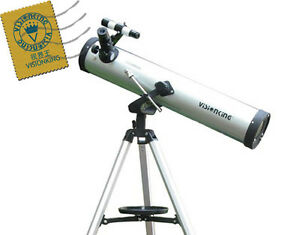 Visionking 3 inches 76 - 700mm Reflector Newtonian Astronomical Telescope moon