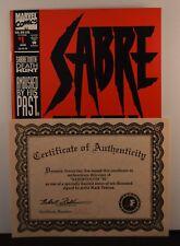 Sabretooth #1 (Marvel,1993) Signed Mark Texeira  COA #3300/10000        X-Men