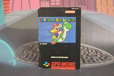 Super Mario World (Super Nintendo SNES 1992) No Game