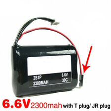 Li-Fe Battery 6.6V 2S1P 3000mAh 30C for Receiver -  Futaba Connector