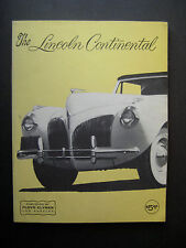 The Lincoln Continental by OCee Ritch