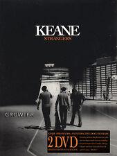KEANE STRANGERS - 2 x DVD -  LIVE CONCERT FILM TOUR MUSIC VIDEO SONG DOCUMENTARY