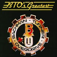 BACHMAN TURNER OVERDRIVE BTO's Greatest CD BRAND NEW Best Of Greatest Hits