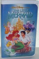 The Little Mermaid (Disney VHS) Out Of Print Banned Cover Art! Black Diamond