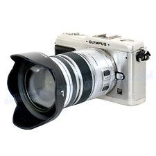 JJC Lens Hood for OLYMPUS M.ZUIKO DIGITAL ED 12-50mm f/3.5-6.3 EZ Lens as LH-55C