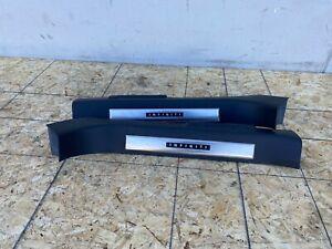 FRONT DOOR SILL SCUFF PLATE LIGHTED SET INFINITI FX50 FX35 QX70 (09-17) OEM
