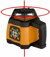 Spot-On Rotary Laser Level 500 Red - Self-levelling, Dual Grade, 0.5mm/10mm