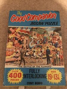 Good Companion 400 piece jigsaw Number 118 The Battle Of The Flowers
