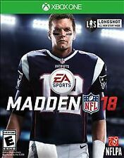 Madden NFL 18 (Microsoft Xbox One, 2017)  DIGITAL DOWNLOAD