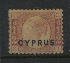 CYPRUS, MINT, #1, OG HR, PLATE 12, NICE CENTERING