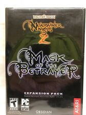 Neverwinter Nights 2 MASK OF THE BETRAYER Expansion Pack for PC UNOPENED SEALED