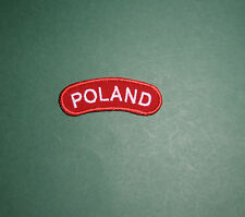 Beautiful Polish Army on the WEST PATCH for arm RED BOW POLAND , copy like WWII