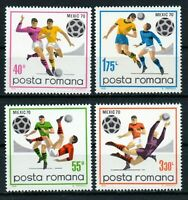 RUMANIA / ROMANIA / ROEMENIE  año 1970 yvert nr. 2539/42  nueva futbol