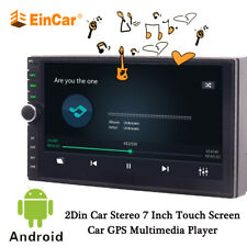 7 Inch Android 10.0 Car MP5 Player Wifi GPS Bluetooth Stereo Radio 2 DIN Navi HD