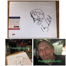 Henry Selick Signed Coraline Director Laika Sketch Autograph PSA COA PROOF