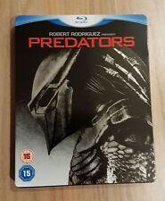 PREDATORS STEELBOOK rare oop blu-ray Adrien Brody Danny Trejo predator goggins
