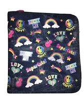 Lisa Frank Vintage Binder Rare Very Good Condition Rainbow And Denim